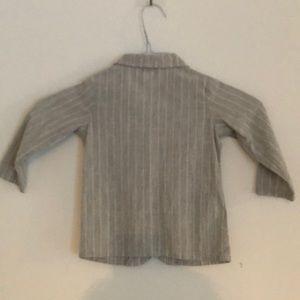 Piccino Picinna Jackets & Coats - 100% Cotton Boys Pinstriped Sport Coat/ Blazer